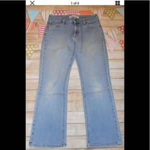 Gap sz 8a boot cut jeans pants